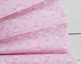 The Best of Sarah Jane - Find the Narwhal (Pink) - Sarah Jane - Michael Miller Fabrics