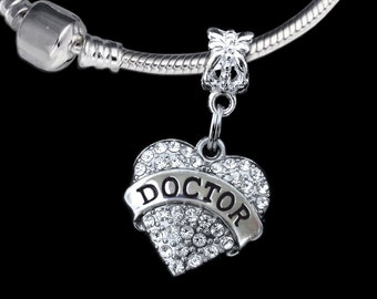 Doctor charm fits European style bracelet and necklace Doctor gift Doctor jewelry