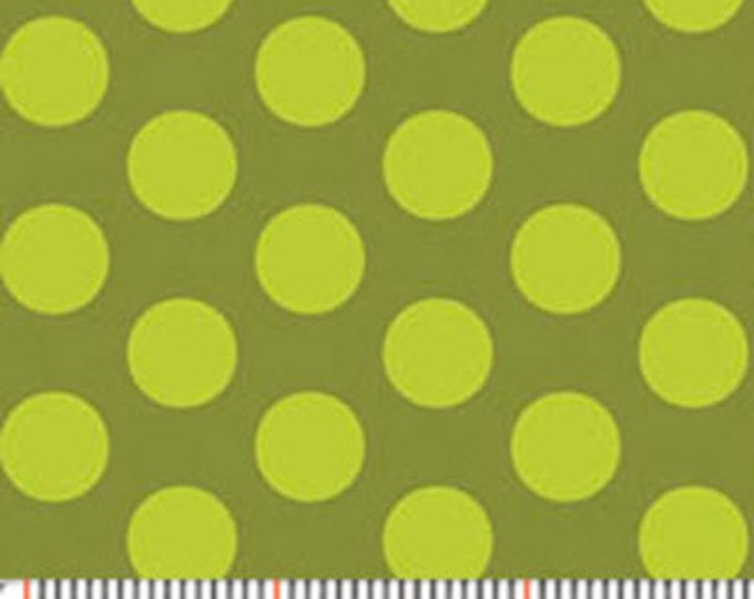 """33"""" REMNANT MORE of This 'N That  - Gum Drops in Moss Green - Cotton Quilt Fabric - Designed by Nancy Halvorsen for Benartex Fabrics (w1912)"""