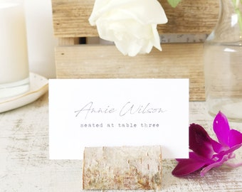 Handwriting Place Card Template, Printable Escort Cards, Handwritten, Word or Pages, Mac or PC, Instant DOWNLOAD