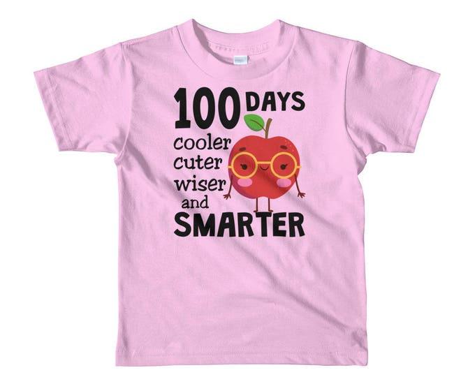 100 Days of School Shirt | 100 Days Smarter Shirt | Kids 100Days School Outfit | 100 days Kindergarten | 100 Days Preschool | Days of School