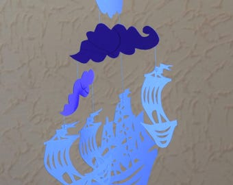 Mobile kirigami: Oh my boat
