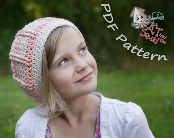 crochet slouchy pattern, permission to sell, crochet hat pattern, easy crochet pattern, crochet hat pattern, slouchy pattern