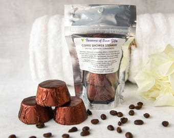 Mother's Day Gift for Coffee Lovers - Coffee Shower Steamers - Shower Bomb - Shower Fizzies