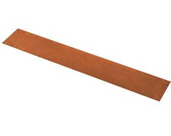 """1"""" x 6"""" Copper Anode for Electroplating Metals Jewelry Tool - PLAT-0001"""