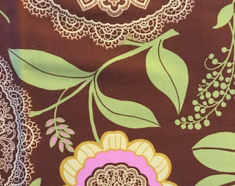 Amy Butler  Fabrics - OOP  Fat Quarters Coco Brown