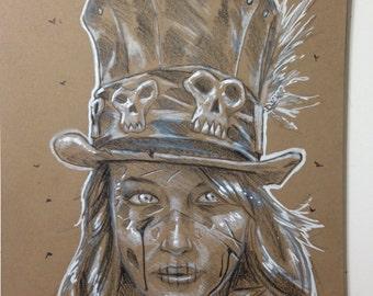 Custom Zombie Drawing