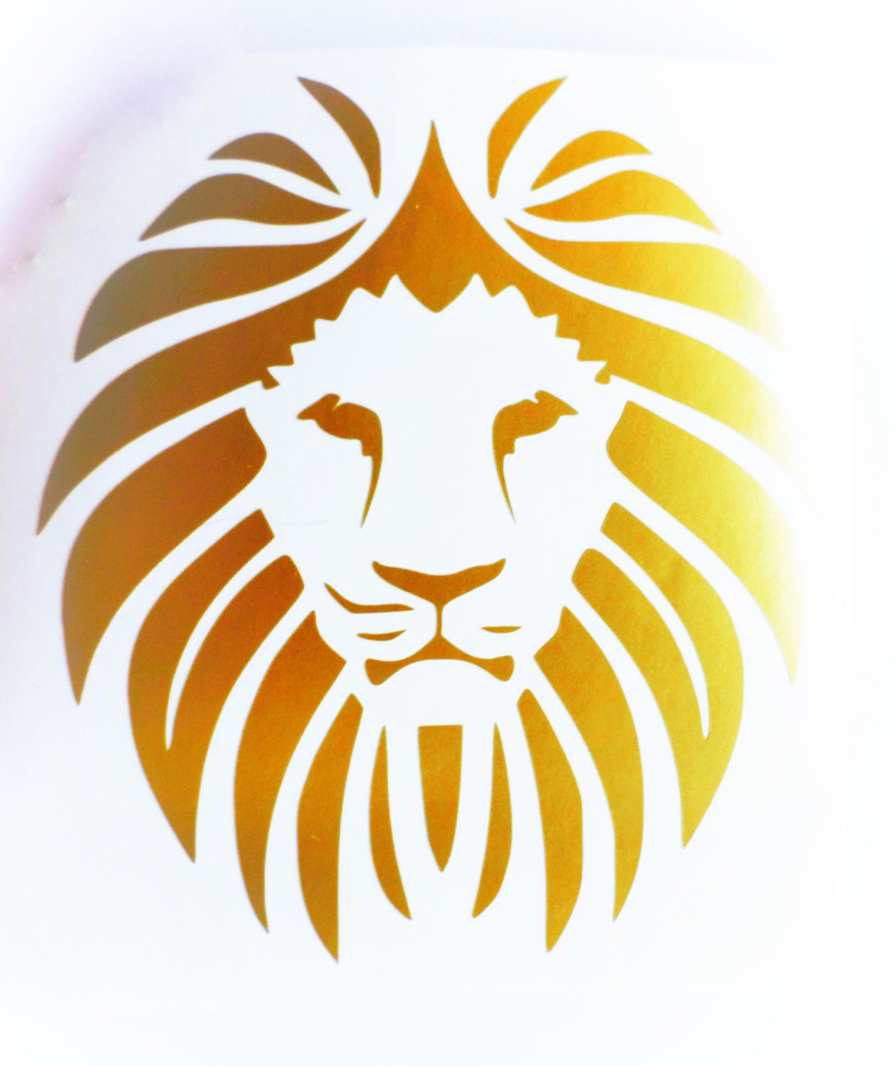 Lion decal Lion vinyl decal Lion laptop decal Lion wall decal