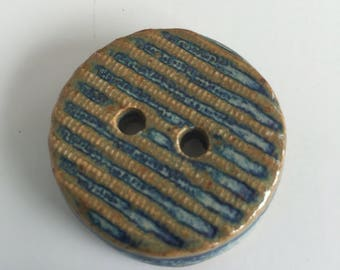Ceramic buttons,stoneware buttons,handmade buttons,art buttons,pottery buttons,clay buttons,sewing supplies,knitting supplies, free shipping