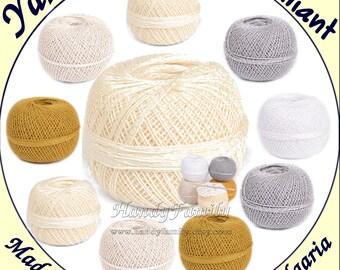 Brilliant Crochet Yarn Crochet thread tasel yarn Amigurumi Kumihimo Cotton yarn voscoseyarn  hypoallergenic yarn vegan yarn Color choise DSH