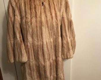 Vintage 1940's Fur Coat