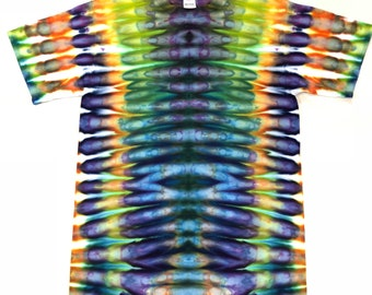 Medium Tie Dye Chroma Veins  T-shirt