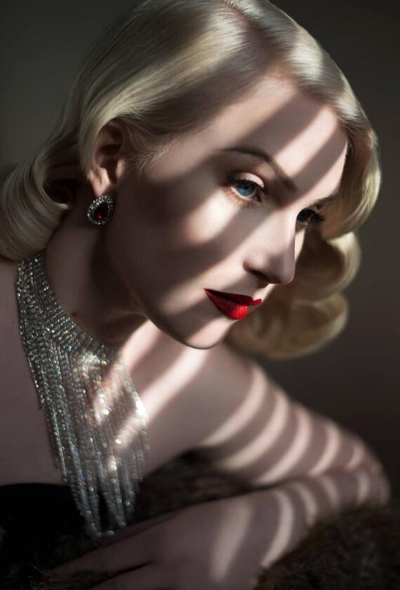 """16x20 Print -Georgie Glamour- """"Hollywood Noir"""""""