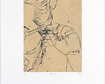 Body Language Dry Point Prints (Various)
