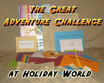 Scavenger Hunt Adventure - Holiday World - The Great Adventure Challenge