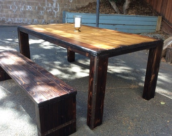 Sun-Kissed Dining Table