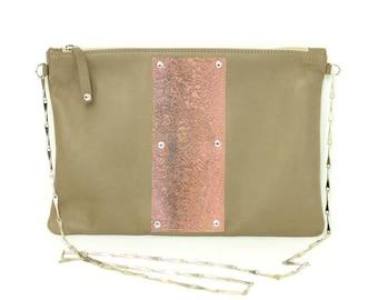 CLEO bag - Fish leather
