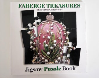 Faberge Treasures Jigsaw Puzzle Book The Forbes Collection