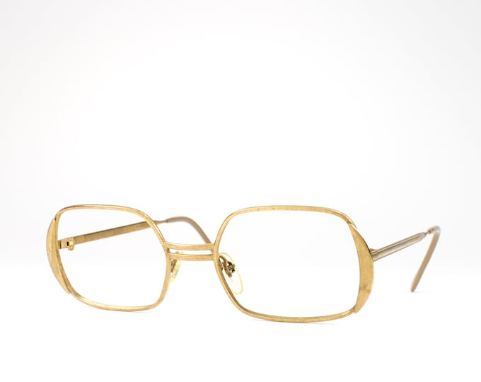 Vintage Eyeglasses | 60s Glasses | 1960s Gold Filled Glasses Frames | 1/20 14k GF Eyeglass Frame - Madona