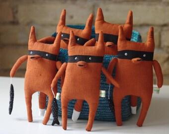 Bandit fox :)