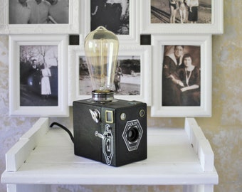 Old camera Goldy lamp
