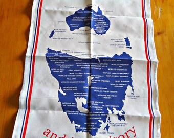 Tea Towel Souvenir Tea Towels Tasmania