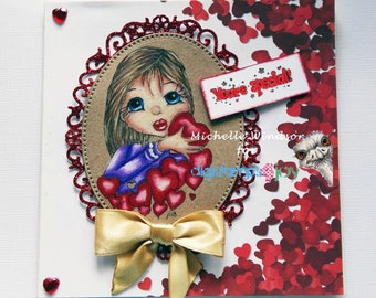 Anniverary , Valentines Day Greeting Card