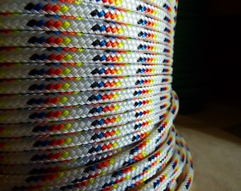 Double Braid -Yacht Braid Polyester Rope. Sailboat Line. Several Options.