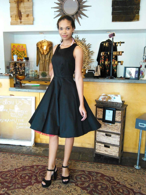Audrey Hepburn Breakfast At Tiffany S Black Dress Vintage