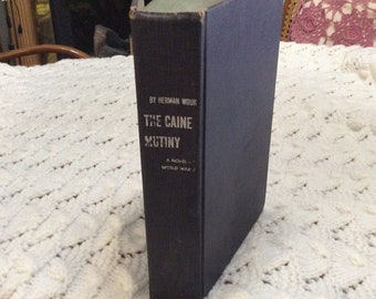 The Caine Mutiny first edition 14th printing 1951. Herman Wouk.