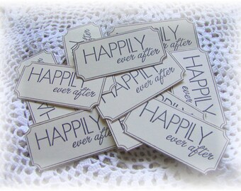 Happily Ever After - Wedding- Wishes- Favors- Tickets (10)