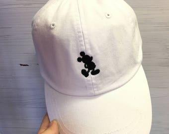Mickey Mouse Silhouette Baseball Cap - Disney Baseball Hats - Disney World - Disneyland