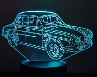 Lamp 3D design: Renault Dauphine