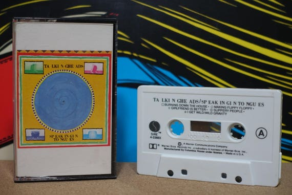 Speaking In Tongues (Rare Club Edition Pressing) by Talking Heads Vintage Cassette Tape