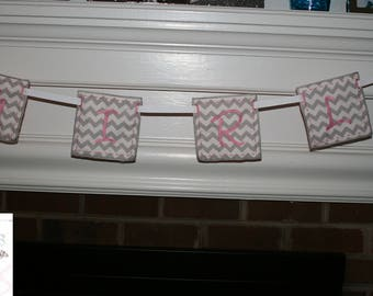 Baby Shower Banner *GIRL* ~ Baby Shower Decoration ~ Party Supply
