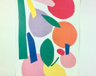 Fruit Print A3