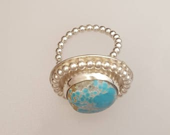 A World of Turquoise Ring