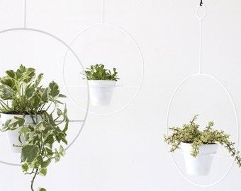 Mid Century Inspired Hanging Plant Holder