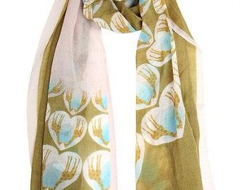GIRAFFE beige scarf