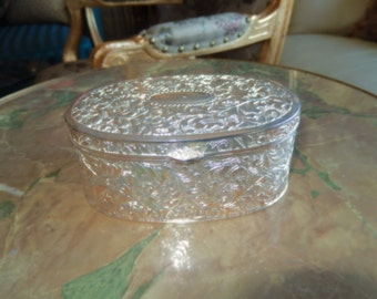 ALBANY OREGON Silver Jewelry Box