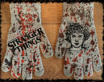 DiY Stranger Things Gloves Eleven