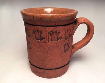 Mudge Island clay mug (hand)