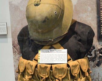 Viet Nam War- Antique Viet Cong Clip Belts