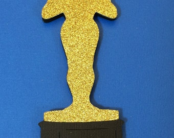 Photo Booth Props- Movie Award-Hollywood Prop with Glitter