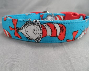 Cat In the Hat Dog Collar