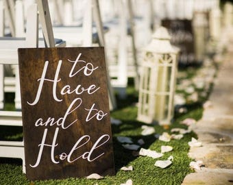 Wedding viw aisle decor