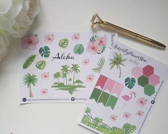 Planner Tropical Stickers Sticker