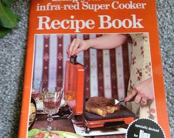 Vintage Rimi Super Cooker Grill Recipe Book.