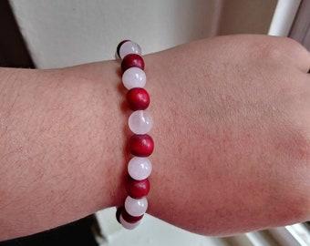 Cranberry crush bracelet