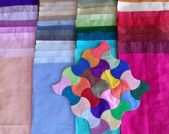 SILK ALLSORTS - 45 Assorted 9 inch squares